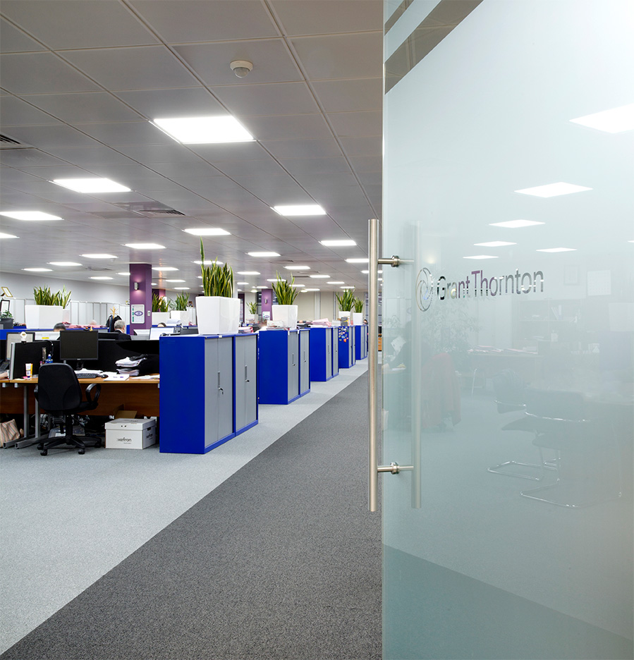 ROBUS SPACE LED Panels Grant Thornton Dublin