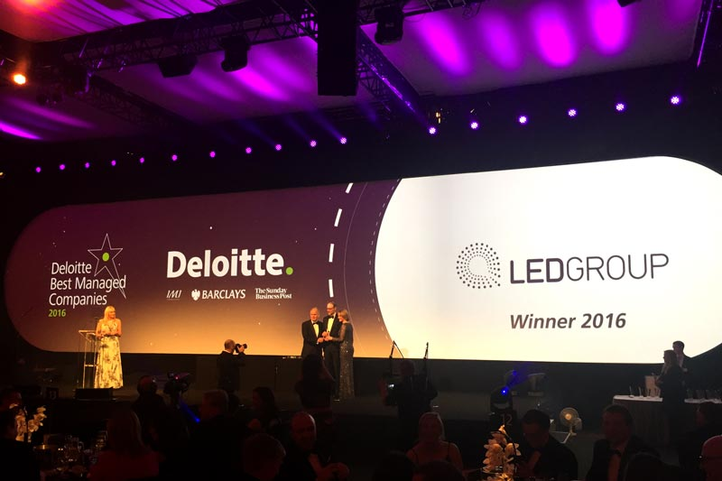 LED Group wins prestigious award