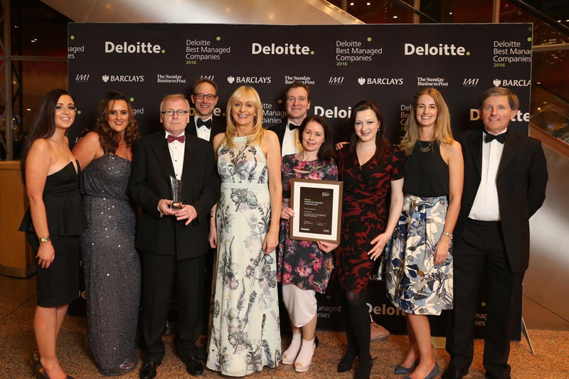 LED Group Team at Deloitte Best Managed Companies 2016