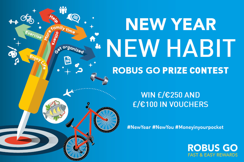 NEW YEAR, NEW HABIT PRIZE CONTEST