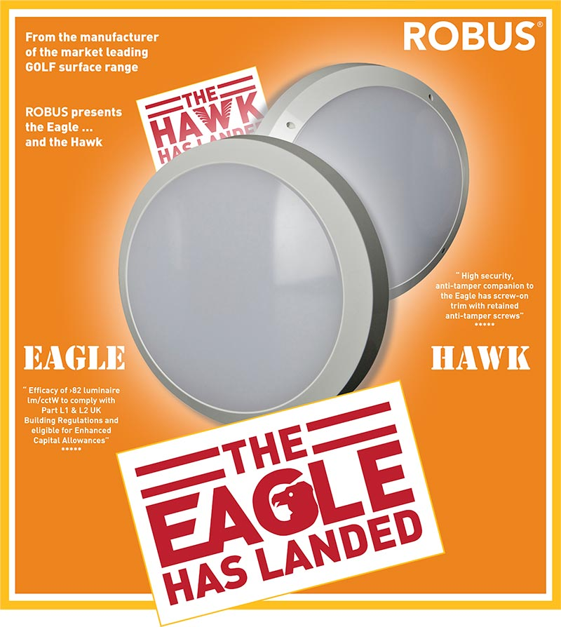 ROBUS Hawk and Eagle LEDs