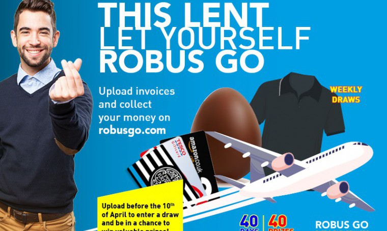 This Lent, Let Yourself ROBUS GO!