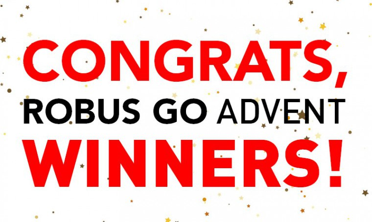ROBUS GO Advent Winners