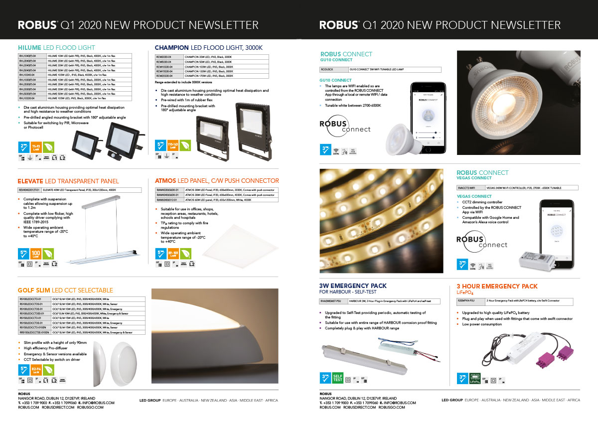 New Products | ROBUS