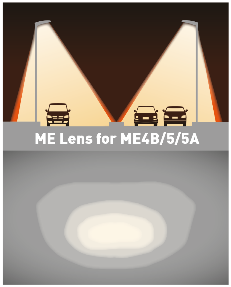 ROBUS Streex Beam Angle ME Lens for ME4B/5/5A