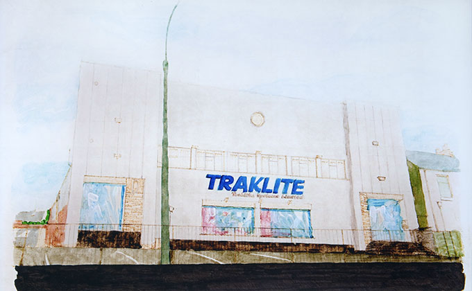 Traklite - the first LED Group HQ
