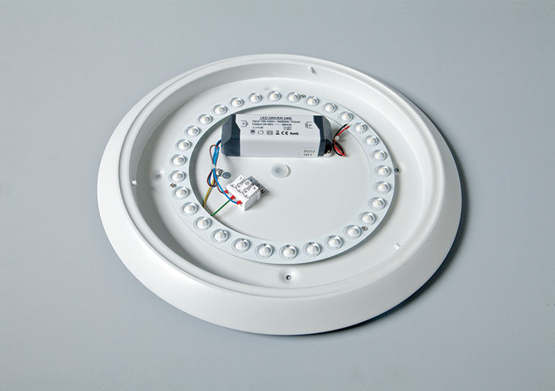 Oyster LED Surface Fitting converted   ROBUS